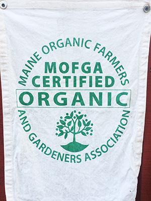 MOFGA certified organic farm